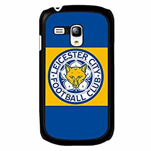 New DIY Leicester City FC Logo Hard Plastic Phone Case Cover-Durable Case Skin Fits Samsung Galxy S3 Mini Pertectly