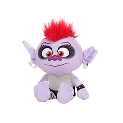 """Retro Styler Trolls World Tour Barb 12"""" Plush Toy: Toys & Games"""