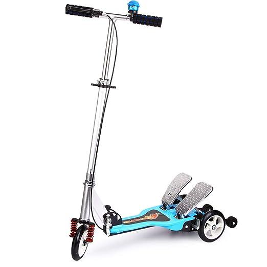 Patinete para Niño Scooter para Niños Scooter Giratorio con ...