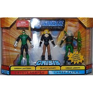 51%2Bbg%2BXTweL. SS300 Mattel DC Universe Infinite Heroes Green lantern / Black Canary / Green Arrow