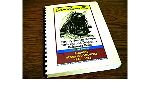 Pleasant Gilbert American Flyer Second Edition Factory Service Manual Wiring Cloud Philuggs Outletorg