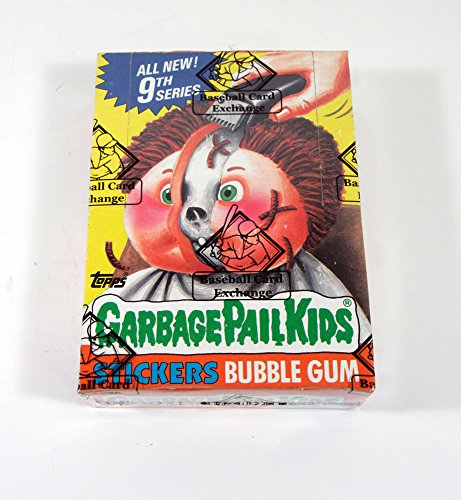 1987 Topps GPK Garbage Pail Kids Series 9 Box Non X-Out BBCE Wrapped from Topps