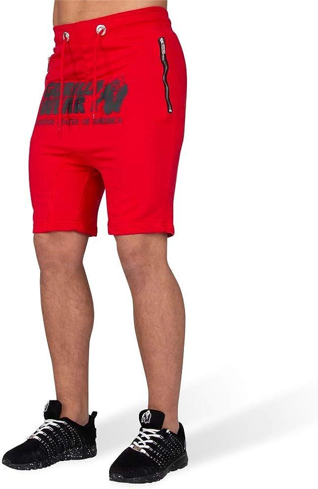 GORILLA WEAR Alabama Drop Crotch Shorts Gray/_XXL