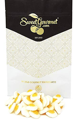 Gustaf's Mini Gummy Fried Eggs | Lemon Flavored Candy | 1 pound]()