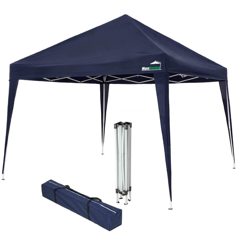 Folding Gazebo Garden Tent Party Tent Blue Maxx Gazebo 3 x 3 m Waterproof Pop-Up Including Bag UV Protection 50