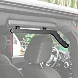 RT-TCZ Aluminum Grab Handle for Jeep Wrangler JK 2007-2017 (Rear Handle, Black)