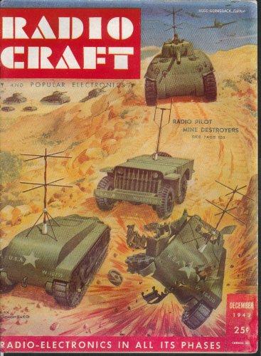 RADIO CRAFT Radio-Pilot Mine Destroyers WACS Oscillator Electronics ++ 12 1943