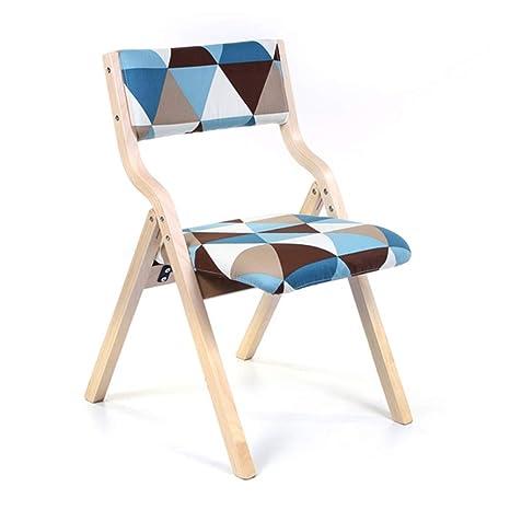 Amazon.com: ZHAOYONGLI Sillas plegables, sillas de comedor ...