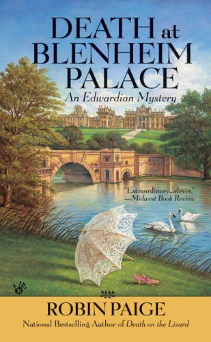 Death at Blenheim Palace (An Edwardian Mystery Book 11)