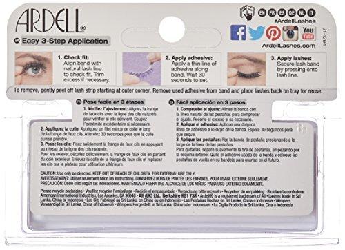 51vmnr6mOEL Ardell Fashion Lashes Pair Black - 116 (Pack of 4)