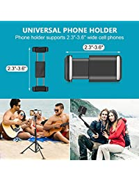 "Aureday 8"" Selfie Ring Light with Cell Phone Holder, LED Lightning Tripod Stand with Carry Bag for Makeup &   Stream, Fits iPhone & Android Phone"