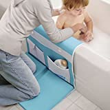 Aquatopia deluxe safety easy bath kneeler makes you stay safe and comfortable during bath time with the extra large, deluxe, anti slip cushioned pad for your knees and extra padding for your elbows. It is easy to use. The kneeler unfolds in seconds. ...
