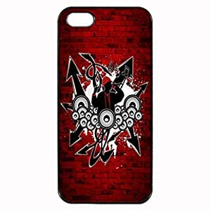 HIP HOP MUSIC GENRE Pattern Image Protective For Iphone 6 Plus Phone Case Cover Cover Hard Plastic For Iphone 6 Plus Phone Case Cover
