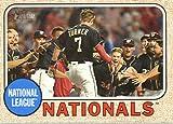 2017 Topps Heritage Baseball #279 Washington Nationals Nationals