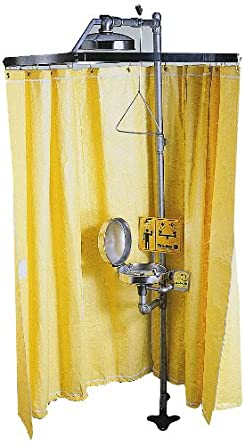 Shower Curtains are vinyl shower curtains safe : Amazon.com: Bradley S19-330 Vinyl Laminate Safety Shower Privacy ...
