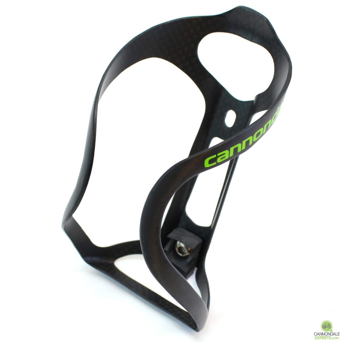 Cannondale GT-40 Carbon Bicycle Water Bottle Cage - Black/Green - CP5107U13OS