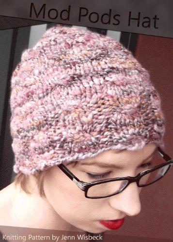 Mod Pods Hat Knitting Pattern - Fiber Mod