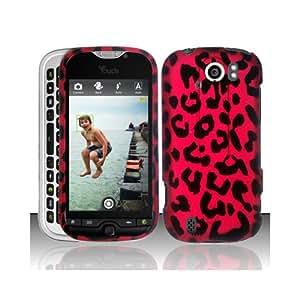 Pink Leopard Hard Cover Case for HTC T-Mobile myTouch 4G Slide