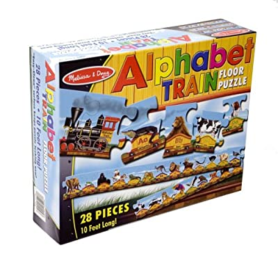 Melissa Doug Alphabet Train Floor Puzzle by Melissa & Doug