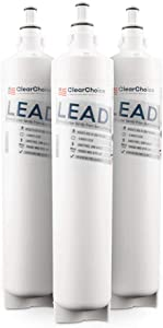 Clear Choice Lead Filter Replacement for 5231JA2006A LT600 LT600P Filter Compatible with SGF-LA50 SGF-LB60 RWF1051 WSL-2 Refrigerator Water Filter, NSF Certified, Box of 3, Made in the USA