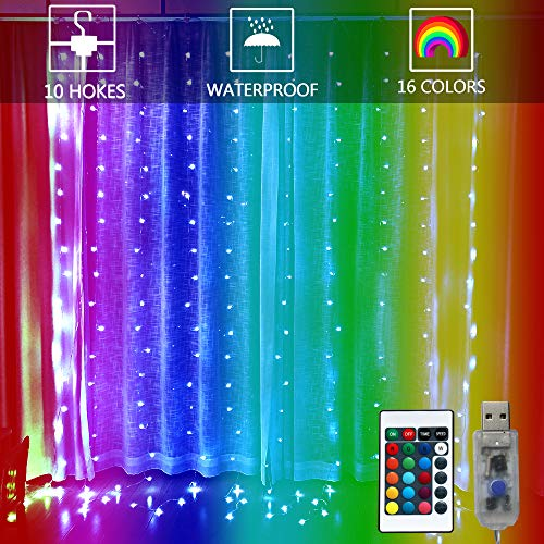 Color Changing Led Icicle Christmas Lights