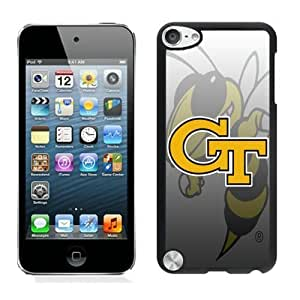Lovely iPod Touch 5 Case Design with Georgia Tech Yellow Jackets 4 in Black