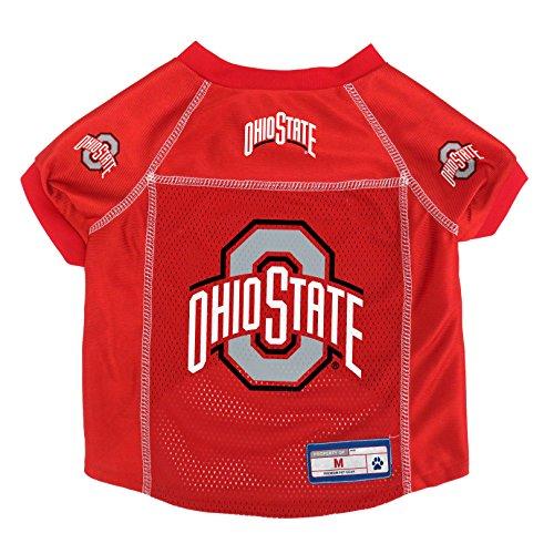 NCAA Ohio State Buckeyes Pet Jersey, Medium ()