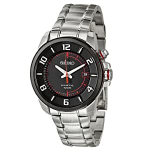 Seiko Kinetic 3-Hand with Date Men's watch #SKA553