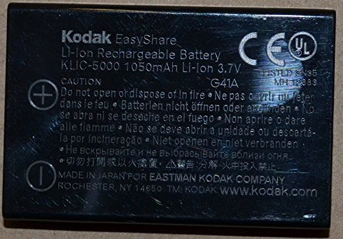 Kodak Genuine Clik-5000 Battery As Used In Easyshare Cameras And Others (5000 Easyshare Kodak)