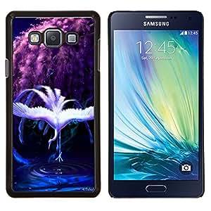 Taotao/duro chascar-en diseño Carcasa piel - Rainbow - Samsung Galaxy A7 A7000 cisne