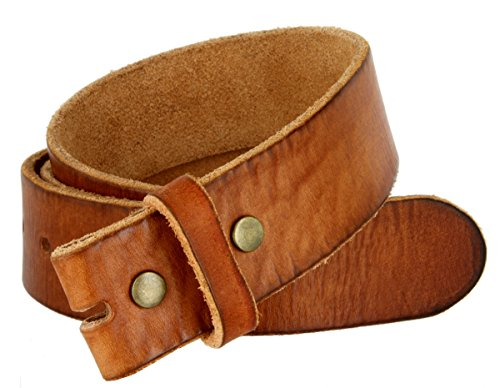 BS-40 Men's Vintage Style Full Grain Leather 1-1/2
