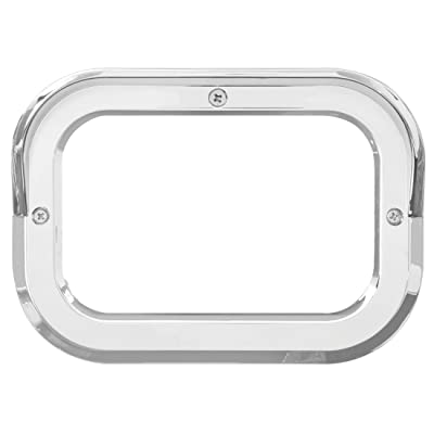 Grand General 80786 Clear Plastic Grommet Cover with Visor for Rect. Light, 1 Pack: Automotive