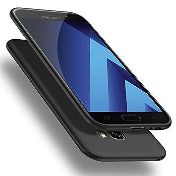 X-level Funda para Samsung Galaxy A5 2017, Carcasa para Samsung Galaxy A5 2017 Suave TPU Gel Silicona Ultra Fina Anti-Arañazos y Protección a Bordes ...
