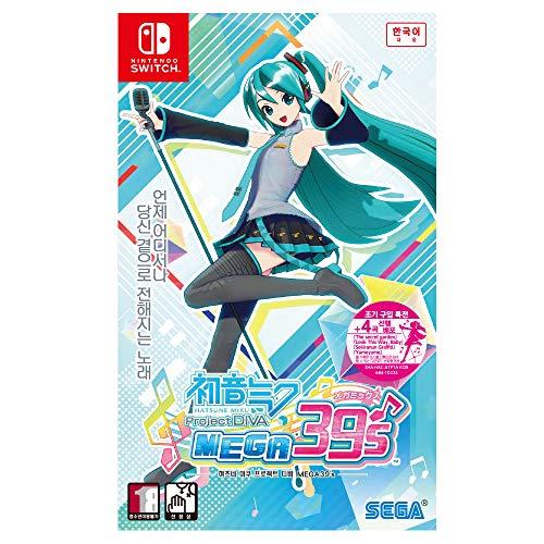 Hatsune Miku Project DIVA Mega Mix Korean Edition - Nintendo Switch