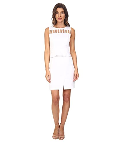 Adrianna Papell Women's Peplum Sheath Dress