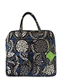 Vera Bradley Grand Cargo Travel Bag Canterberry Cobalt with Blue Interior