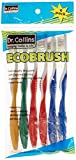 Dr. Collins Toothbrushes, Prepasted , 6 Count ( Pack Of 12 )