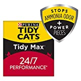 Purina Tidy Cats Clumping Cat Litter - Tidy Max 24 7 Performance Multi Cat Litter - 38 lb. Box