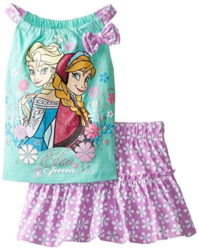 Disney Little Girls' Frozen Scooter, Teal, 2T