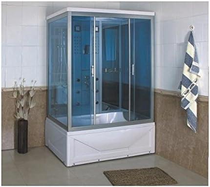 TRADE GD-Mampara de ducha con Cabina de hidromasaje de baño 85 x ...
