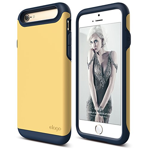 iPhone elago Indigo Creamy Yellow