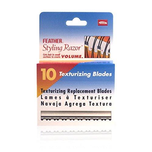 amazoncom feather texturizing razor kit beauty