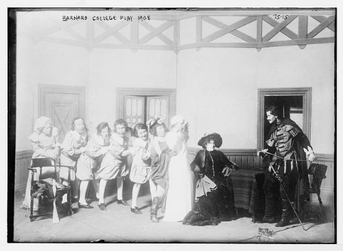 Group Costumes For 8 People (Photo: Barnard College play,1908,group of people in costumes,on stage 1)
