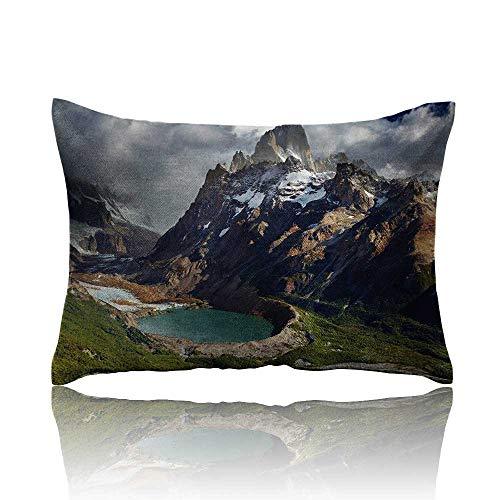Landscape Cars Pillowcase Mount Fitz Roy and Laguna Torre Los Glaciares National Park Patagonia Argentina Youth Pillowcase 14