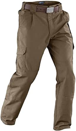 5.11 Tactical Men's Active Work Pants, Superior Fit, Double Reinforced, 100% Cotton, Style 74251