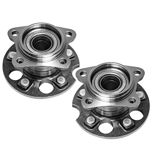 2013 Lexus Rx330 Awd - TUCAREST 512284 x2 (Pair) Rear Wheel Bearing and Hub Assembly Compatible 2004-2006 Lexus RX330 07-09 RX350 06-08 RX400h 04-13 Toyota Highlander 09-16 Venza [4X4 4WD/AWD 5 Lug W/ABS]