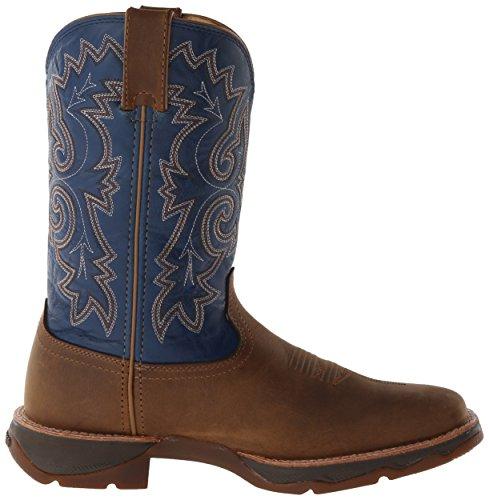 Cowboy Lady Boots Durango Rebel up Femme Ramped Et Tan Blue Bottes Bottines Marron 68wqwxfdt