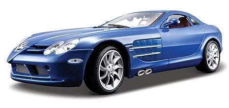 Amazon Com Mercedes Benz Slr Mclaren Blue Maisto Premiere 36653