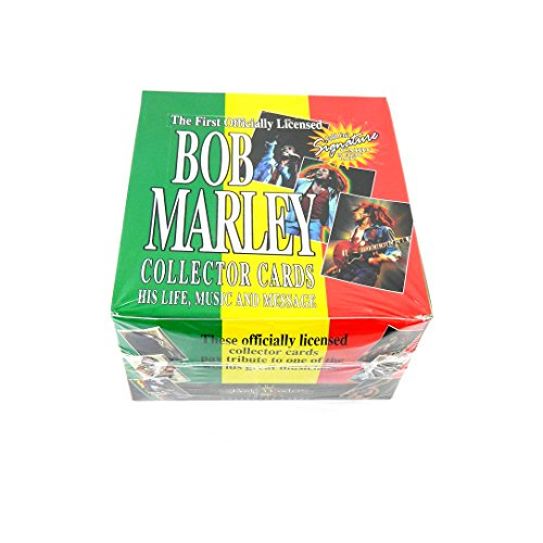 1995 Island Vibes Bob Marley The Legend Collector Trading Card Box (36 Pack)