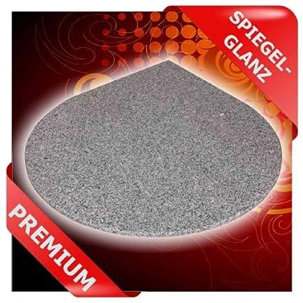 Placa de base forma de gota, – Base protectora para esquina de granito F.